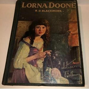 Lorna Doone autographed book coffee table decor